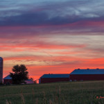 Farm Country Sunset